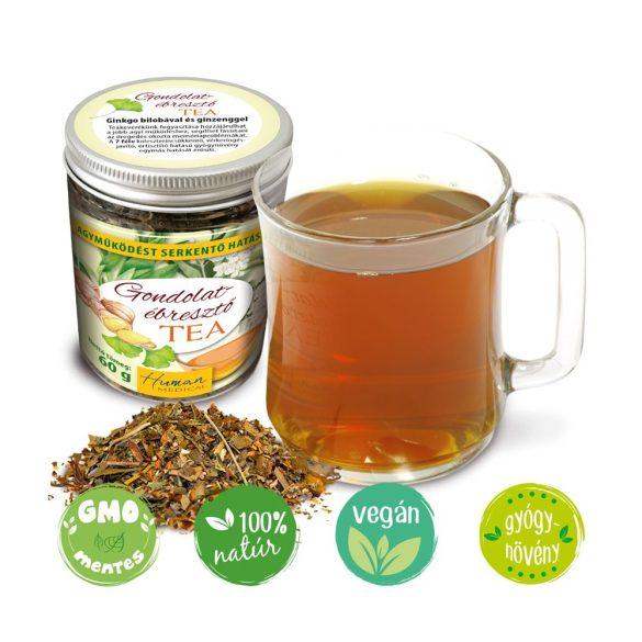 Gondolatébresztő tea - agyműködést serkentő hatással