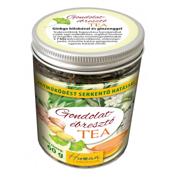 Brain-boosting tea - For enhanced brain function and to combat memory loss