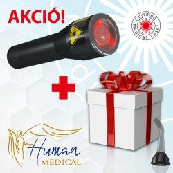 Safe Laser 500 Infra + Ajándék száloptika, gyógytea* és személyes konzultáció, INGYENES Szállítás.