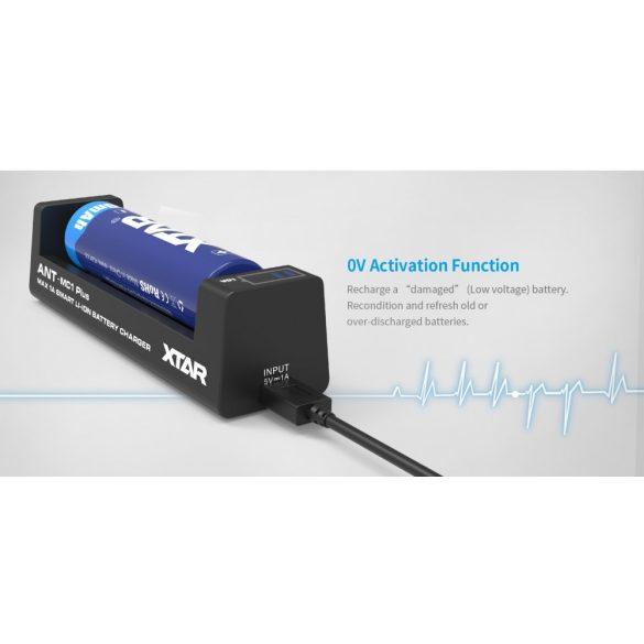 XTAR MC1 Plus akkumulátor töltő